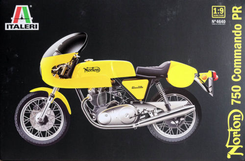 Italeri Norton 750 Commando PR 1 9 Item no. 4640 Motorcycle Motorbike
