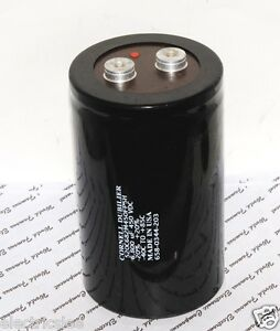1pcs-CDE-6800uF-450V-520C682M450FP5H-Screw-Terminal-Capacitor-90x150-BOX015