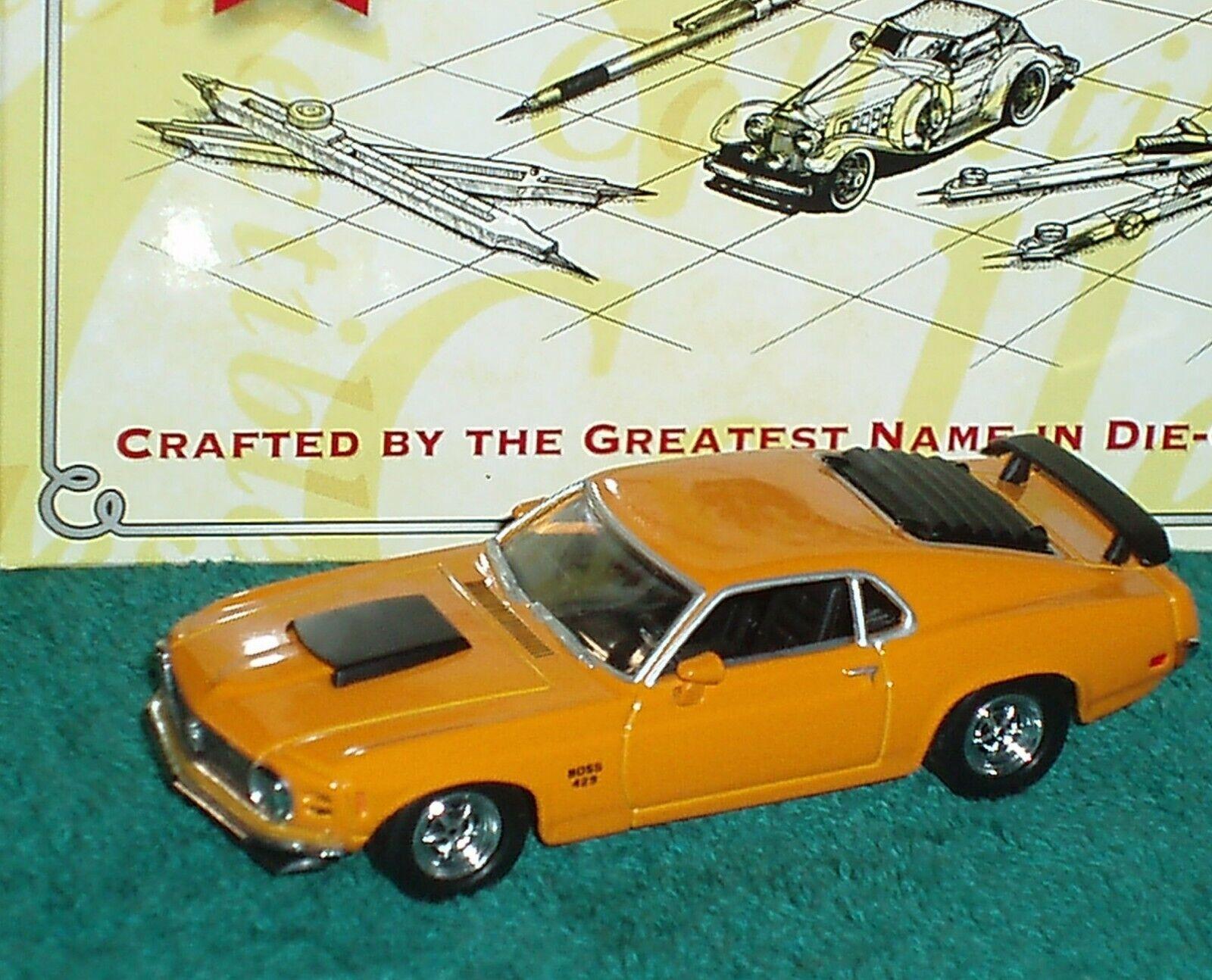 MATCHBOX  1970 FORD MUSTANG BOSS 429 orange 1 43 RARE