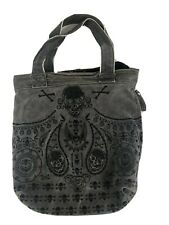Sugar Skull Loungefly Purse Duffel Bag Tote Purse Leather