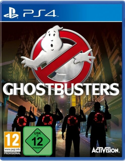 Ps4 Sony PlayStation 4 Game Ghostbusters Boxed