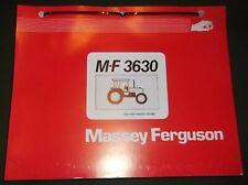 Massey Ferguson Mf 3630 Tractor Parts Manual Book Catalog