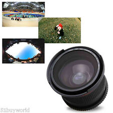 2 in1 Muti-Coated 58mm Fisheye Macro Conversion Lens for Nikon D3300 D3200 D3100