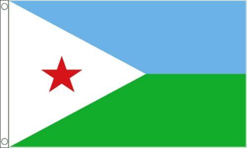 DJIBOUTI NACIONAL 5/'x3/' BANDERA