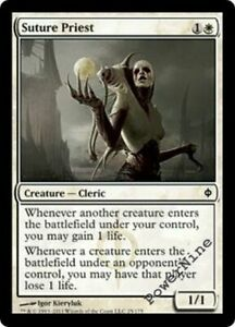 4-PLAYED-Suture-Priest-White-New-Phyrexia-Mtg-Magic-Common-4x-x4
