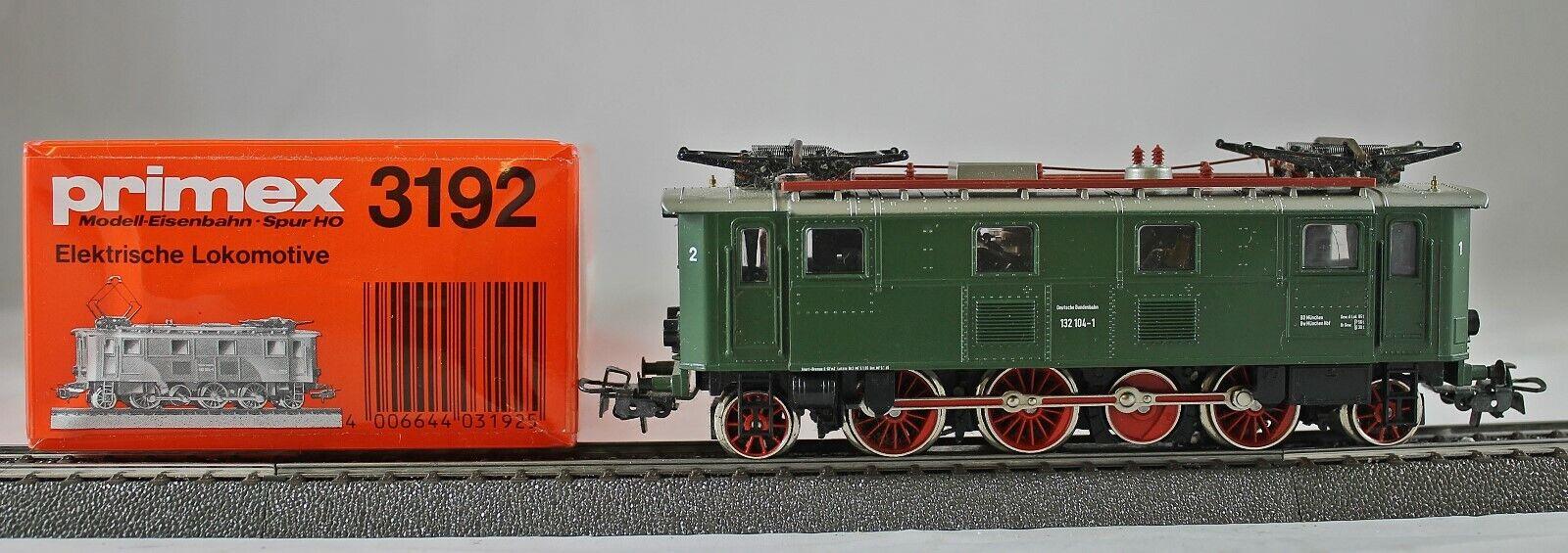 marklin PRIMEX 3192 elektrolokomotive BR 132 delle DB da collezione con scatola originale