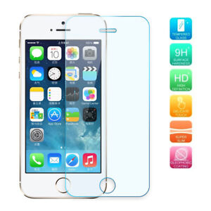 9H-TEMPER-GLASS-SCREEN-PROTECTOR-FOR-Apple-iPhone-4S-5S-5E-6-6S-7-8-8PLUS-X-ZR