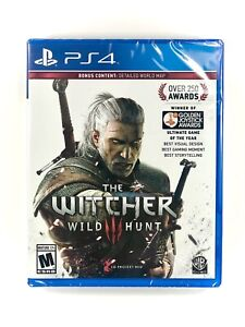 The Witcher 3 III Wild Hunt (PlayStation 4 / PS4) BRAND NEW FACTORY SEALED