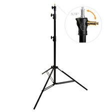 METTLE Studiostativ 270 cm mit Wechsel-Spigot Lampenstativ Fotostudio-Stativ