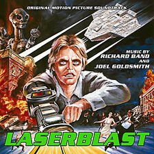 Laserblast Soundtrack CD, Full Moon Features and Charles Band
