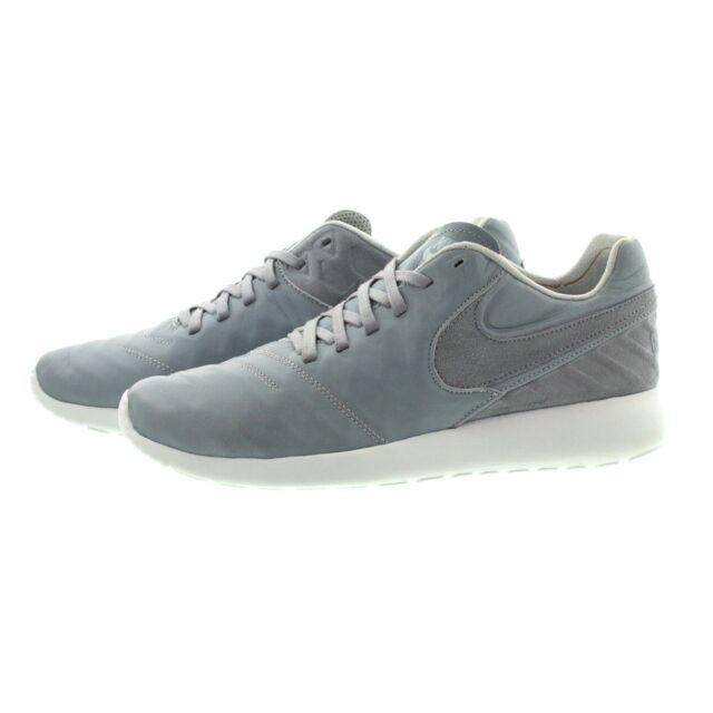 e626432a17e7 Nike Roshe Tiempo VI QS Running SNEAKERS Wolf Grey White Mens Size 9 ...