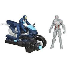 "Marvel Avengers Age of Ultron Ultimate Leader Iron Man 2.5"" Figures & Motorcycle"