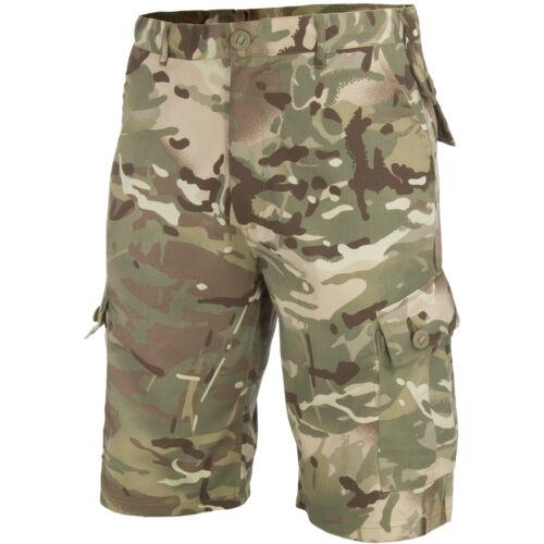 Highlander Elite Pantaloncini Escursionismo Sicurezza Esterna Pesca HMTC Camo