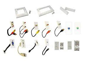image is loading faceplate-euro-module-modular-plug-socket-system-keystone-