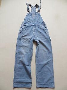 Levi-039-s-Latzhose-Latz-Jeans-Hose-Gr-M-W-31-L-30-Vintage-Denim-Overall-RAR