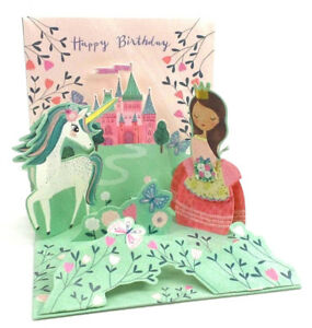 Any Occasion Greeting Card 3D Pop Up Floating Butterflies Treasures