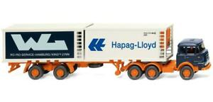 WIKING-052201-Kuhlcontainersattelzug-Krupp-034-Hapag-Lloyd-Wl-Model-1-87-H0