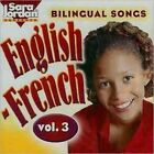 Bilingual Songs English-french Vol. 3 by Marie France Marcie Compact Disc Book