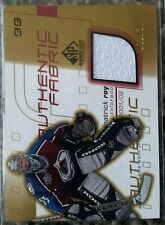 2001-02 SP Game Used Edition Authentic Fabric Gold Jersey Patrick Roy 12/300