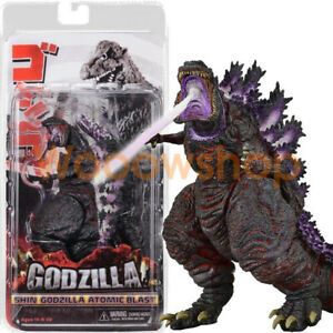 NECA-Atomic-Blast-Shin-Godzilla-2016-Movie-6-034-Action-Figure-12-034-Head-Tail-Purple