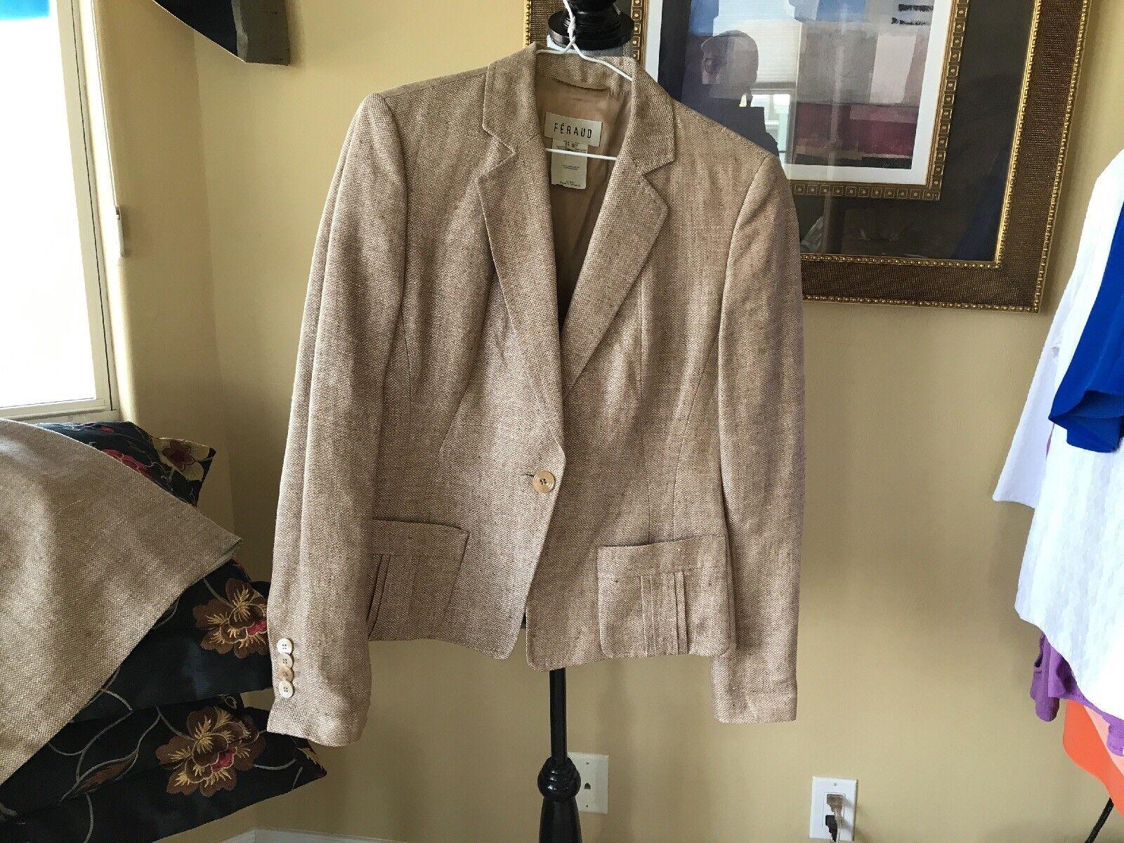 Feraud 2 Piece Suit. Size 8