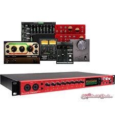 Focusrite Clarett 8Pre 18x20 Thunderbolt Audio Interface for Recording