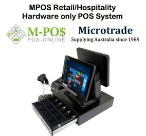 Dual-15-034-MPOS214-All-in-One-Terminal-Printer-scanner-cash-drawer-Complete