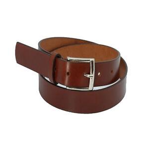 Cinturón de Piel de Ubrique. Negro, marrón y cuero.