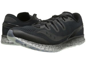 2c8963f5 Details about Saucony Freedom ISO Running Shoes, Men`s Size 12.5 Medium  (D), Black, NEW!