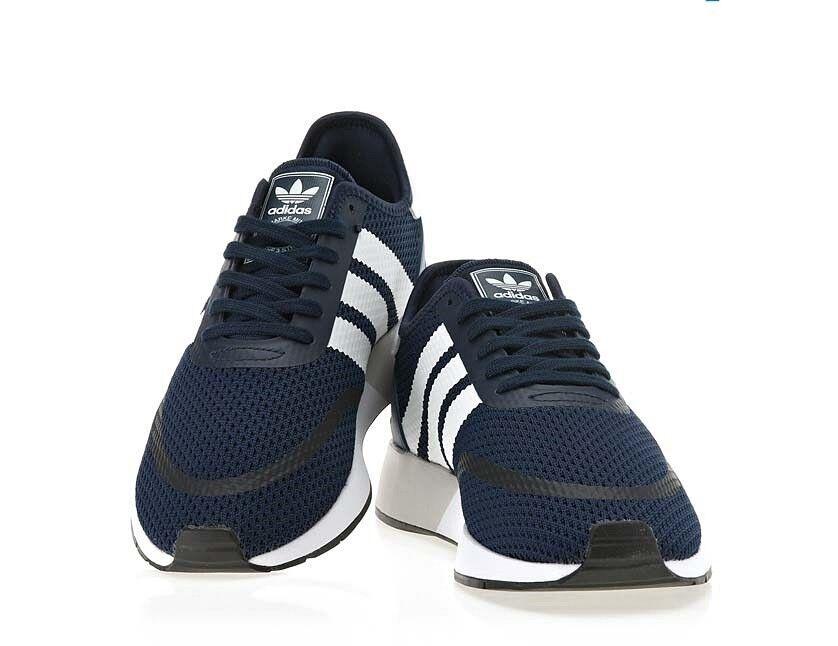 Adidas N-5923 para hombre Athletic tenis De Correr Tenis Unisex Azul Marino Talla 5-10