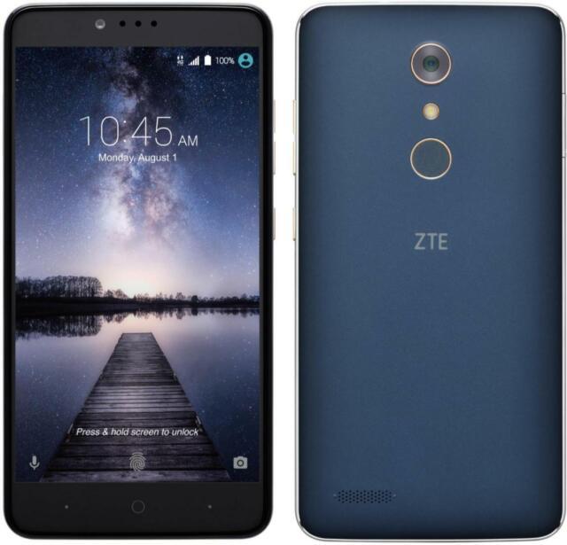 ZTE Zmax Pro Z981 32GB T-Mobile Black Smartphone 8 7/10
