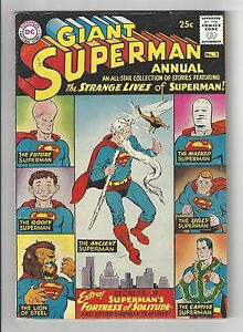 GIANT SUPERMAN ANNUAL #3, 1961, FN CONDITION COPY, The Strange Lives of Superman