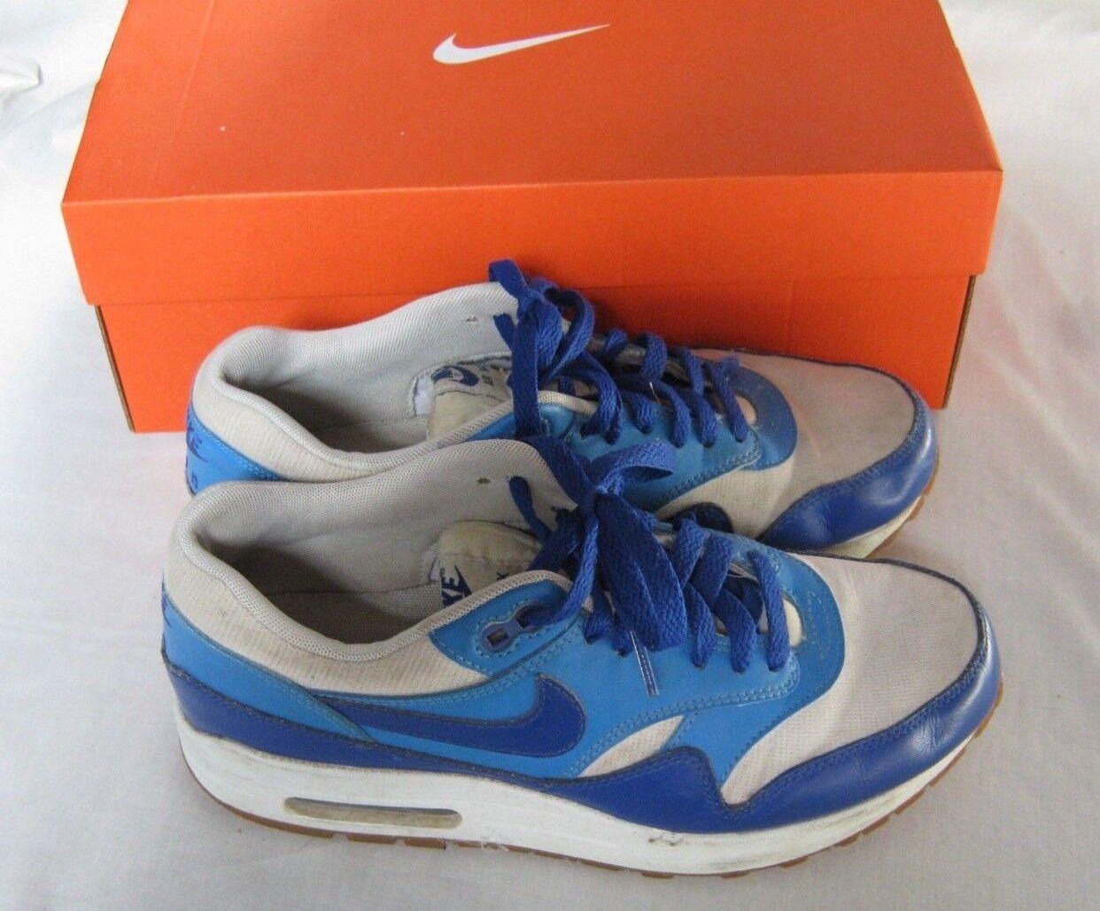 Nike Air Max 1 Vntg Vintage para para para Mujer Entrenadores Azul 855284 105-UK 5.5 EU 39 nos 8  100% a estrenar con calidad original.