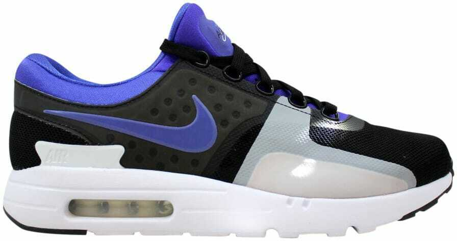 Nike Air Max Zero QS Black Persian purple-White 789695-004 Men's Size 9