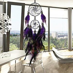 Traditional-Handmade-Dream-Catcher-Feathers-Wall-Car-Hanging-Ornament-Decoration