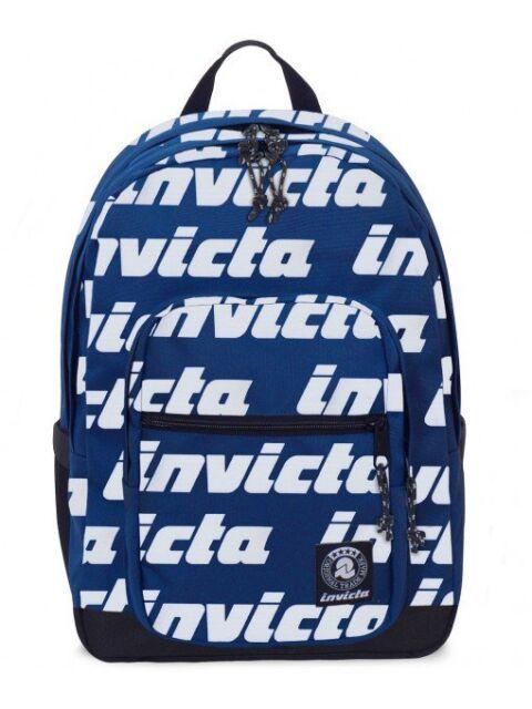 vasta selezione di e1e50 5158e Zaino Jelek Pro Lettering Invicta Logo Blu