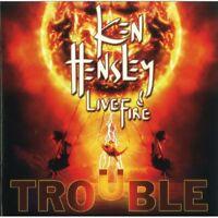 Ken Hensley, Ken Hensley & Live Fire - Trouble [new Cd] on Sale