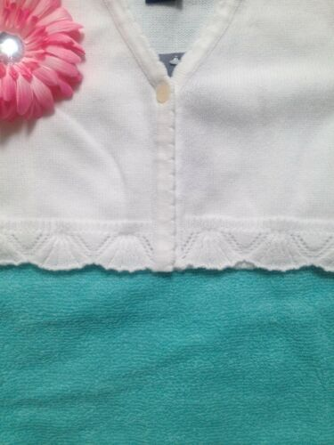3T.4T.5.6.6x,7 Toddler//Girls New White Chaps Sweater,Short Sleeve //Long Sleeve