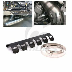Exhaust & Exhaust Systems Automobiles & Motorcycles Klx450r 2008-2009 Motorcycle Accessories Exhaust Muffler Pipe Leg Protector Heat Shield Cover For Kawasaki Klx450r 2008 2009