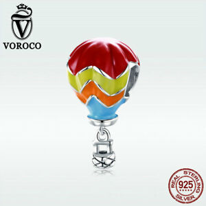 Voroco-Colorful-S925-Sterling-Silver-Pendant-Turkish-Balloon-Charm-For-Bracelet