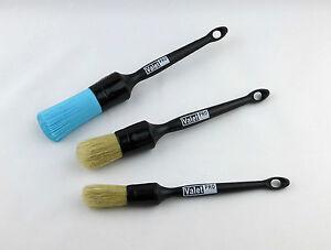 valet pro sash alloy wheel detailing brush set of 3 brushes. Black Bedroom Furniture Sets. Home Design Ideas