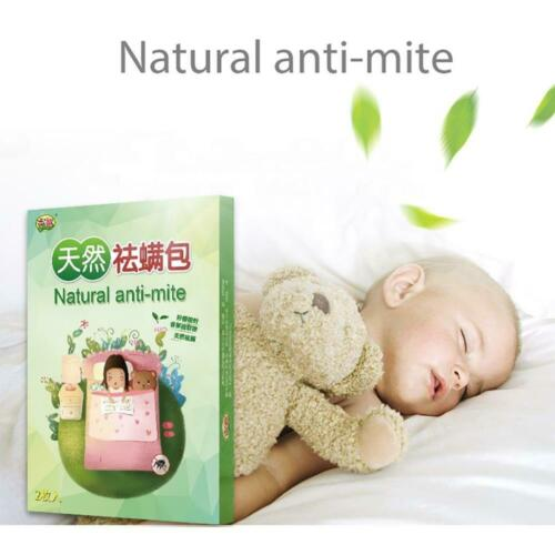 Natural Mite Killer Natural Anti-Mite Plant Extract Non-Toxic Safe 1//2Pack