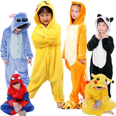 Unisex Adult Kids Animal Kigurumi Pajamas Cosplay Costume Onsie88 Night XMAS