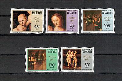 Übersee:5482 VertrauenswüRdig Togo Michelnummer 1623-1627 Postfrisch Reisen