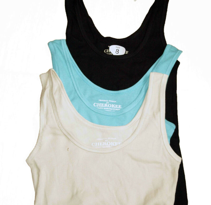 Brand *new* Ladies Cotton Rib Vest Camisole Size:8, 10, 12, 14, 16, 18, 22