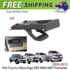 LH-Cup-Holder-Tray-Grey-Fits-2004-15-Toyota-Hilux-Vigo-SR5-V6-Pickup-Fortuner