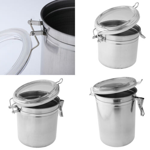 7 Size Dry Food Container House Air Tight Canister Pantry Jar Camping Pot