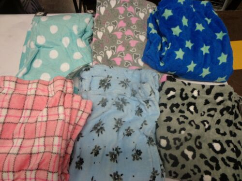 new Women/'s Fleece Lounge Pajama Pants  6 styles sleep ladies plush pajamas soft