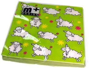 Easter-Spring-Lambs-Napkins-16cm-X-16cm-decoupage-decoration