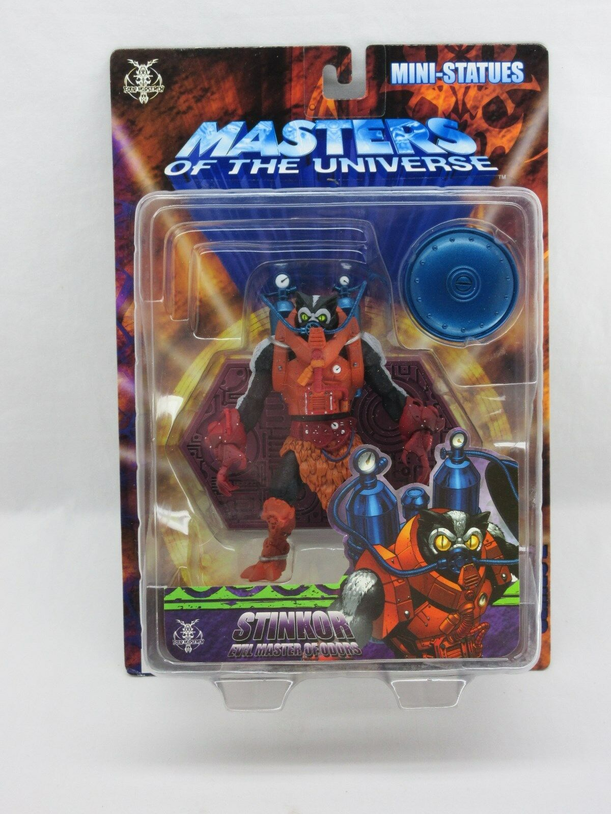 MOTU,STINKOR,200x,Neca statue,MISB,Sealed,Masters of the Universe,He man